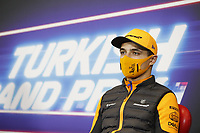 12th November 2020; Istanbul Park, Istanbul, Turkey;   FIA Formula One World Championship 2020, Grand Prix of Turkey, 4 Lando Norris GBR, McLaren F1 Team pre race press conference