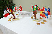 flags wine competition Les Citadelles du Vin  bourg bordeaux france