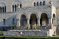 Kaiserschloss von Wilhelm II (Zamek) in Posnan (Posen), Woiwodschaft Großpolen (Województwo wielkopolskie), Polen Europa<br /> Castle (Zamek built by Wilhelm II in Posnan, Poland, Europe