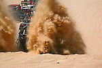 ATV GETS STUCK IN SAND IN MEXICO