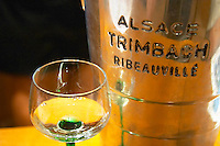 ice bucket alsace glass f e trimbach ribeauville alsace france