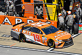 Monster Energy NASCAR Cup Series<br /> GEICO 500<br /> Talladega Superspeedway, Talladega, AL USA<br /> Sunday 7 May 2017<br /> Daniel Suarez, Joe Gibbs Racing, ARRIS Toyota Camry<br /> World Copyright: Nigel Kinrade<br /> LAT Images<br /> ref: Digital Image 17TAL1nk05830