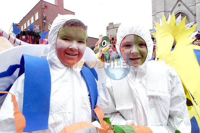 THIS YEARS ST. PATRICK'S DAY PARADE LOOKS LIKE IT IS NOT GOING AHEAD WITH THE SPREAD OF FOOT AND MOUTH DISEASE THROUGHOUT IRELAND.PICTURE: PAUL MOHAN/NEWSFILE