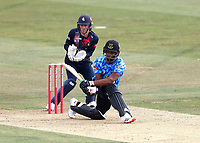 Delray Rawlins bats for Sussex during Kent Spitfires vs Sussex Sharks, Vitality Blast T20 Cricket at The Spitfire Ground on 12th September 2020