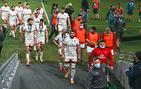 Saturday 12th September 2020 | PRO14 Final - Leinster vs Ulster<br /> <br /> Ulster player head back to the changing rom after the Guinness PRO14 Final between Leinster ands Ulster at the Aviva Stadium, Lansdowne Road, Dublin, Ireland. Photo by John Dickson / Dicksondigital