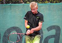 Hilversum, Netherlands, August 9, 2017, National Junior Championships, NJK, Max Houkes<br /> Photo: Tennisimages/Henk Koster