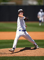 IMG Academy Ascenders pitcher Jackson Ferris (10) during a game against the Calvary Christian Academy Eagles on March 13, 2021 at IMG Academy in Bradenton, Florida.  (Mike Janes/Four Seam Images)