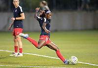 Boyds, MD - Wednesday Sept. 07, 2016: Crystal Dunn during a regular season National Women's Soccer League (NWSL) match between the Washington Spirit and the Seattle Reign FC at Maureen Hendricks Field, Maryland SoccerPlex.