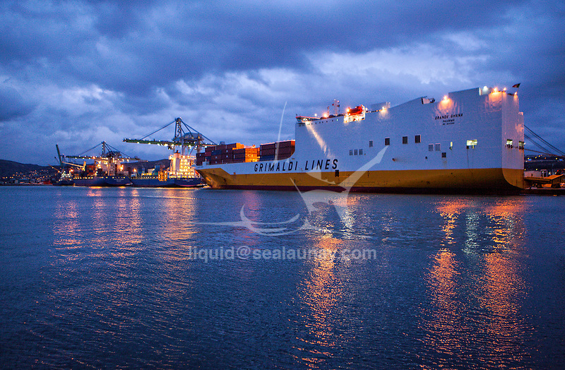 Ferry / Passenger Ship Paglia Orba. Length 165 m X 29 m<br /> Gross tonnage:29,718 tons<br /> Summer DWT:6,325 tons <br /> Build in 1994 France<br /> Chantier Naval de Marseille (CNdM) is a ship repair yard with modern and well equipped facilities, a highly skilled workforce, a wide network of specialists and strong teamwork ethic .