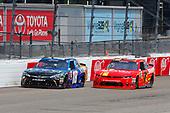 NASCAR Xfinity Series<br /> ToyotaCare 250<br /> Richmond International Raceway, Richmond, VA USA<br /> Saturday 29 April 2017<br /> Daniel Suarez, Juniper Toyota Camry and Justin Allgaier, BRANDT Chevrolet Camaro<br /> World Copyright: Russell LaBounty<br /> LAT Images<br /> ref: Digital Image 17RIC1Jrl_3709