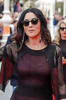 Monica Bellucci attends the On the Milky Road Premiere during the 64th San Sebastian film festival at the Victoria Eugenia theater in San Sebastian, Spain, 19/09/2016. # FESTIVAL INTERNATIONAL DU FILM DE SAN SEBASTIAN - JOUR 4