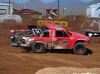 Apr 16, 2011; Surprise, AZ USA; LOORRS driver John Harrah (13) during round 3 at Speedworld Off Road Park. Mandatory Credit: Mark J. Rebilas-.