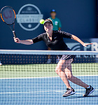 August 2, 2019: Elina Svitolina (UKR) in action where she was defeated by Maria Sakkari (GRE) 1-6, 7-6, 6-3 in the quarterfinals of the Mubadala Silicon Valley Classic at San Jose State in San Jose, California. ©Mal Taam/TennisClix/CSM