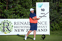 Brad Rowland. Day two of the Renaissance Brewing NZ Stroke Play Championship at Paraparaumu Beach Golf Club in Paraparaumu, New Zealand on Friday, 19 March 2021. Photo: Dave Lintott / lintottphoto.co.nz
