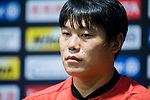 Cai Huikang reacts during Pre-Match Press Conference and Training Session prior to the AFC Champions League 2017 Quarter-Finals match between Shanghai SIPG (CHN) and Guangzhou Evergrande (CHN) at the Shanghai Stadium on 20 August 2017 in Shanghai, China. Photo by Yu Chun Christopher Wong / Power Sport Images