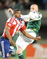 Portland Timbers vs Club Deportivo Chivas USA April 07 2012