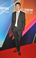 """Samuel Bottomley at the 65th BFI London Film Festival """"Sundown"""" UK premiere, BFI Southbank, Belvedere Road, on Saturday 09th October 2021, in London, England, UK. <br /> CAP/CAN<br /> ©CAN/Capital Pictures"""
