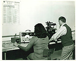 The inspection department at Harper-Leader in Waterbury, 1974.