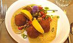 Crawfish Balls is a favorite appetizer. (DOUG WOJCIK/STEVENS POINT JOURNAL)