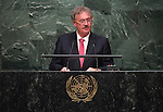 Luxembourg<br /> General Assembly 70th session 22nd plenary meeting<br /> Continuation of the General Debate