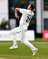 Ollie Robinson bowls for Sussex during Kent CCC vs Sussex CCC, LV Insurance County Championship Group 3 Cricket at The Spitfire Ground on 14th July 2021