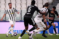 Miralem Pjanic of Juventus in action during the Champions League round of 16 second leg football match between Juventus FC and Lyon at Juventus stadium in Turin (Italy), August 7th, 2020. <br /> Photo Federico Tardito / Insidefoto