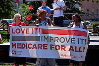 Medicare For All Rally Chicago 7-30-15