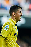 Pablo Fornals of Villarreal CF reacts during the La Liga 2017-18 match between Valencia CF and Villarreal CF at Estadio de Mestalla on 23 December 2017 in Valencia, Spain. Photo by Maria Jose Segovia Carmona / Power Sport Images