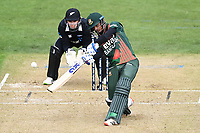 20th March 2021; Dunedin, New Zealand;  Shak Mahedi Hasan during the New Zealand Black Caps v Bangladesh International one day cricket match. University Oval, Dunedin.