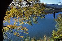 California, Russian River, Fall colors, Duncan Mills