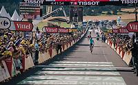 stage winner Omar Fraile (ESP/Astana)<br /> <br /> Stage 14: Saint-Paul-Trois-Châteaux > Mende (187km)<br /> <br /> 105th Tour de France 2018<br /> ©kramon