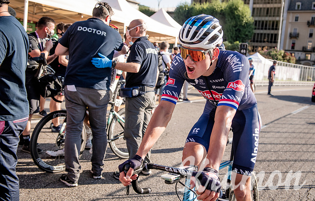 Mathieu Van der Poel (NED/Alpecin-Fenix) rolling in 10th<br /> <br /> 114th Il Lombardia 2020 (1.UWT)<br /> 1 day race from Bergamo to Como (ITA/231km) <br /> <br /> ©kramon