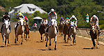 May 19, 2012 T M Fred Texas (#10), Abel Castellano, Jr. up, wins the President of United Arab Emirates Cup Series (Gr. I) for Arabian horses at Pimlico Race Course in Baltimore, Maryland. photo by Joan Fairman Kanes