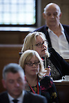 © Joel Goodman - 07973 332324 . 13/07/2016. Manchester , UK . Manchester City Centre Cllr JOAN DAVIES . Proceedings at a Manchester City Council meeting , at the Town Hall in Manchester . Photo credit : Joel Goodman
