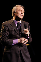 Montreal (QC) CANADA,Nov 8 2009-  French singer Salvatore Adamo perfrom at Montreal's Place-des-Arts.<br /> .