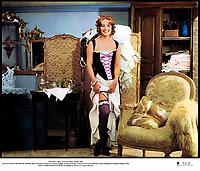 """Prod DB © Athos - Franco London - Rialto / DR<br /> LE PLUS VIEUX METIER DU MONDE film a sketches de Jean-Luc Godard (Anticipation), Philippe de Broca (Mademoiselle Mimi), Claude Autant-Lara (Aujourd'hui) Franco Indovina (L'Ere prÈhistorique), Mauro Bolognini (Nuits Romaines) et Michael Pfleghar (La Belle Epoque) 1966 FRA./ALL./ITA.<br /> sketch """"MADEMOISELLE MIMI"""" de Philippe de Broca avec Jeanne Moreau<br /> lingerie, sexy<br /> premier titre: L'AMOUR ¿ TRAVERS LES AGES"""
