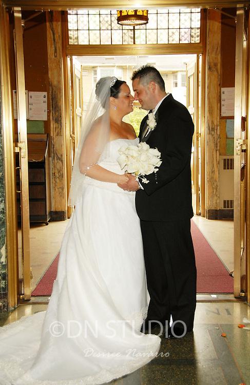 The wedding of Kristina Arra and Nino Panzarella at St Rosalia-Regina Pacis Church in Brooklyn, New York on Saturday, June 13, 2009.
