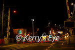Irish Water laying new water pipes in Farranfore on Tuesday night