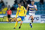 Greenock Morton v St Johnstone….09.07.19      Cappielow        Pre-Season Friendly<br />Murray Davidson chased down by John Sutton<br />Picture by Graeme Hart. <br />Copyright Perthshire Picture Agency<br />Tel: 01738 623350  Mobile: 07990 594431