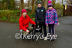 Enjoying a stroll with Rex the dog in Killarney National park on Sunday are Jenny, Sandra and Matthew Lucey.