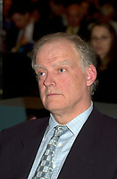 April 2001 File Photo of<br /> Hydro Quebec President Andre Caille (andré Caillé)<br /> <br /> Hydro Quebec released today Oct 25th 2001, it's approvisionment(? SPELLING?) plan.<br /> <br /> Hydro-Québec, and the governments of Quebec<br /> and Canada also  organizes today and tomorrow (Oct 25 & 26th 2001) a conference to assess the James Bay and Northern Quebec Agreement (since its signing over a quarter century ago), where more than twenty experts will present their analyses of the Agreement.<br /> <br /> Photo by Pierre Roussel / Getty Images (On Spec)