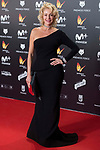 Belen Rueda attends red carpet of Feroz Awards 2018 at Magarinos Complex in Madrid, Spain. January 22, 2018. (ALTERPHOTOS/Borja B.Hojas)