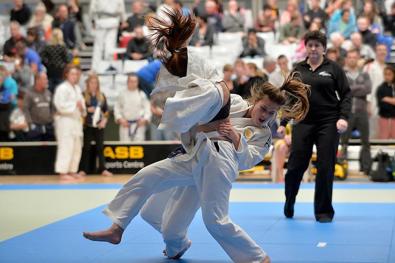 NZ National Judo Championships at ASB Sports Centre, Kilbirnie, New Zealand on Sunday 27 October 2013.<br /> Photo by Masanori Udagawa.<br /> www.photowellington.photoshelter.com