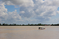 Typical Passenger Boat on Suriname River Paramaribo