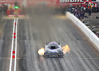 Feb 21, 2020; Chandler, Arizona, USA; NHRA funny car driver Jack Beckman during qualifying for the Arizona Nationals at Wild Horse Pass Motorsports Park. Mandatory Credit: Mark J. Rebilas-USA TODAY Sports