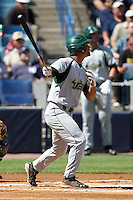 USF Bulls outfielder James Ramsey #15 at bat during a scrimmage against the New York Yankees at Steinbrenner Field on March 2, 2012 in Tampa, Florida.  New York defeated South Florida 11-0.  (Mike Janes/Four Seam Images)