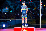 Magnus Cort Nielsen winner of the stage of La Vuelta a España 2016 in Madrid. September 11, Spain. 2016. (ALTERPHOTOS/BorjaB.Hojas)