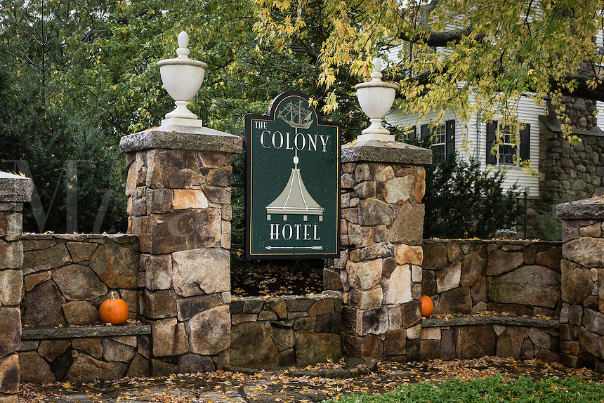 The Colony Resort Hotel, Kennebunkport, Maine, USA.