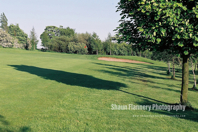 Pix: Shaun Flannery/shaunflanneryphotography.com...COPYRIGHT PICTURE>>SHAUN FLANNERY>01302-570814>>07778315553>>..18th May 2004..............Hickleton Golf Club, Lidgett Lane, Hickleton, Doncaster, DN5 7BE..Golf Course - 13th green.