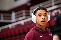 STANFORD, CA - March 7, 2020: Jayden Carson of Little Rock during the 2020 Pac-12 Wrestling Championships at Maples Pavilion.